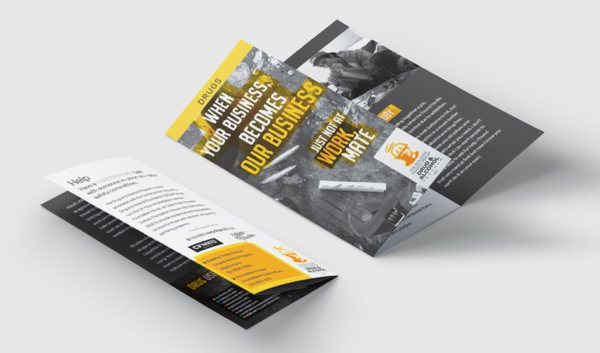 BTG Trifold Drugs flyer