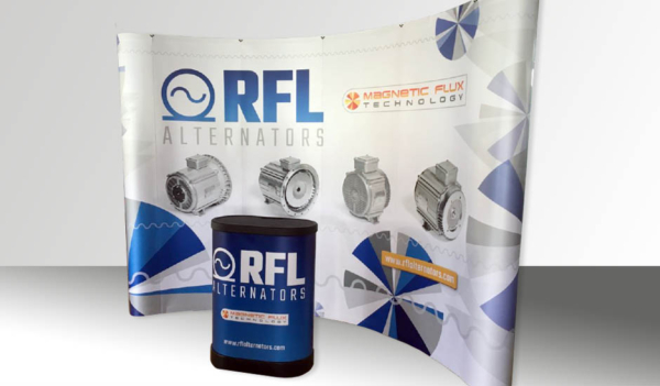 RFL Banner stand