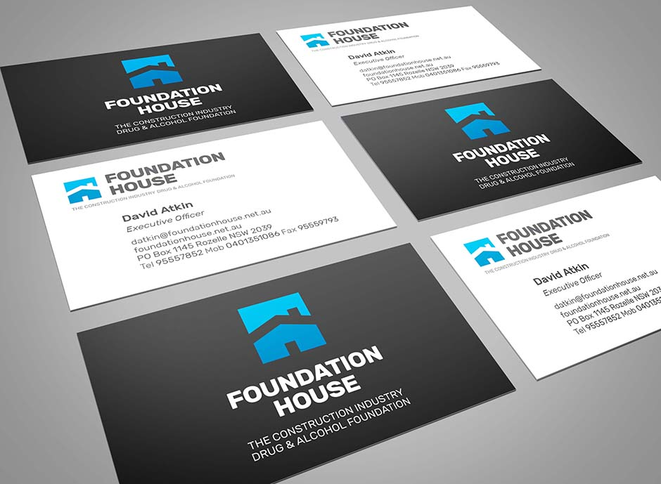 Fundation House Business Cards